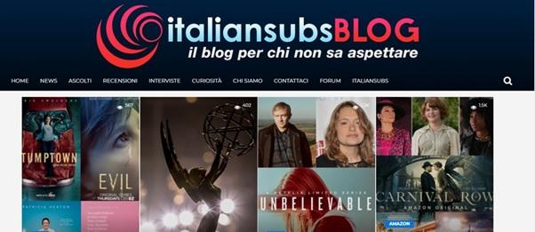 Il blog e il forum di Italiansubs ancora attivi
