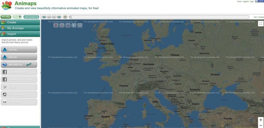 Google maps e 4 tips per creare i percorsi animati con Animaps