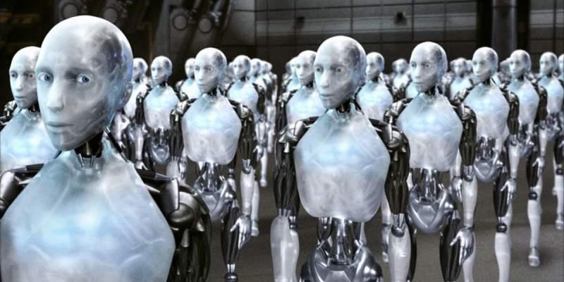 Fotogramma dal film Io, Robot - Cinema e tecnologia