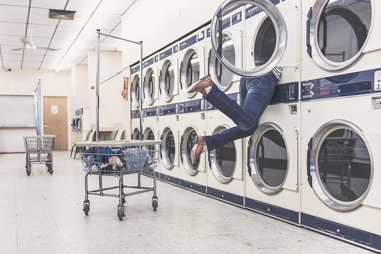 La diffusione delle lavanderie a gettoni