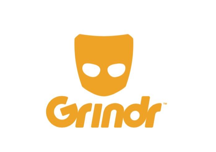 Logo di Grindr, app di incontri gay