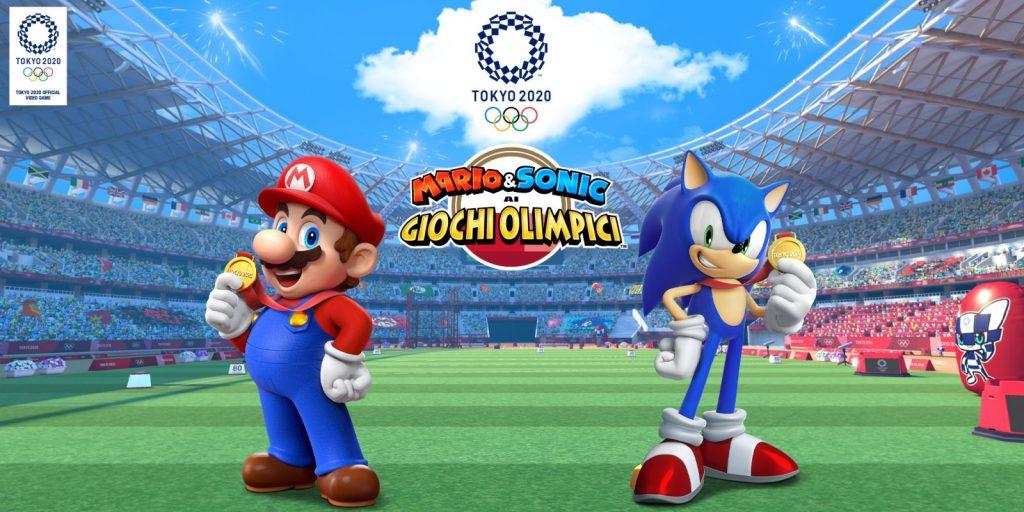 Mario e Sonic ai giochi olimpici di Tokio